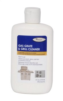 Gas Grate and Drip Pan Cleaner - 4 oz