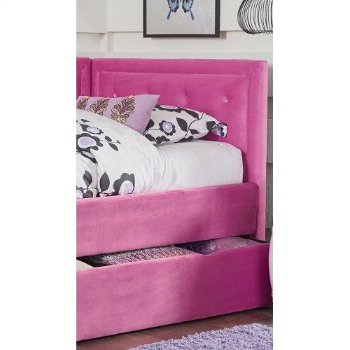 Uph Pink Corner Headboard/footboard, 3/3