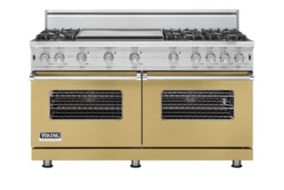 "60"" Custom Sealed Burner Range, Natural Gas, No Brass Accent"