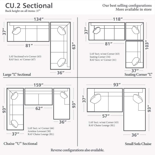 CU.2 Large L-Shaped Sectional