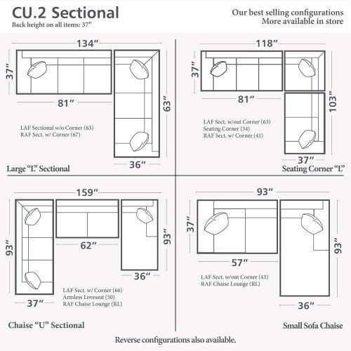 CU.2 U-Shaped Sectional