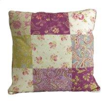 Etta May Patchwork Pattern Pillow