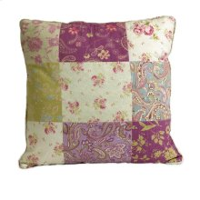 Etta May Patchwork Pattern Pillow