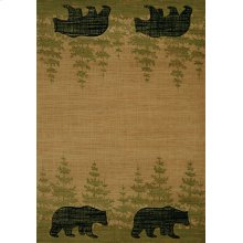 Contours/cem Wooded Bear Beige Rugs