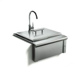 XO APPLIANCE24in Apron Sink and Faucet