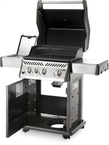 Rogue ® 425 SB Stainless Steel with Range Side Burner