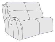 Derek Left Arm Power Motion Loveseat