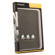 Polaroid 7-Inch Tablet and e-Reader Multi-Angle Viewing Stand with Protective Case - PAC3101, Black
