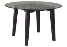 Round Glass Top Table