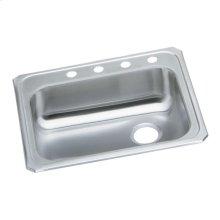 """Elkay Celebrity Stainless Steel 25"""" x 21-1/4"""" x 5-3/8"""", Single Bowl Drop-in Sink"""
