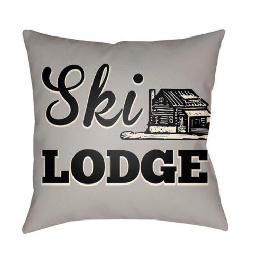 "Lodge Cabin LGCB-2039 22"" x 22"""