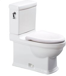 2-PC-Toilet - White Alpin