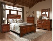 Queen Mantel Bed