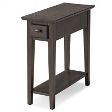 Smoke Gray Chairside/Recliner Table #10071-GR