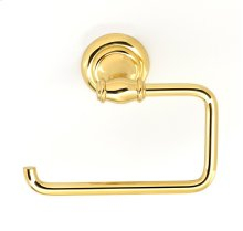 Charlie's Collection Single Post Tissue Holder A6766 - Polished Brass