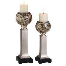 2 PC. CANDLE SET