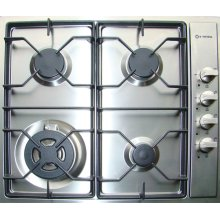 """Stainless Steel 24"""" Gas Cooktop - Side Control"""