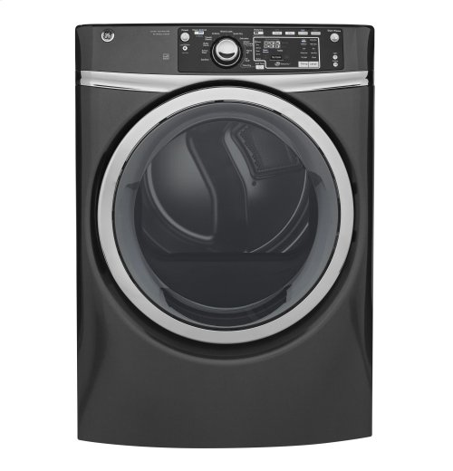 GE® 8.3 cu. ft. Capacity Front Load Gas ENERGY STAR® Dryer with Steam