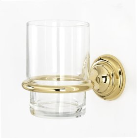 Charlie's Collection Tumbler Holder A6770 - Polished Brass