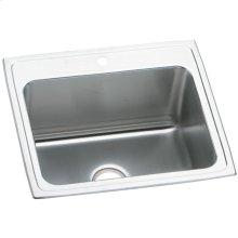 "Elkay Pursuit Stainless Steel 25"" x 22"" x 12-1/8"", Single Bowl Drop-in Laundry Sink"
