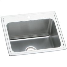 "Elkay Pursuit Stainless Steel 25"" x 22"" x 12-1/8"", Single Bowl Drop-in Laundry Sink"
