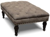 Everly Ottoman with Nails 3957ALN