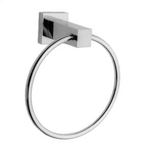 Gloss Black Towel Ring