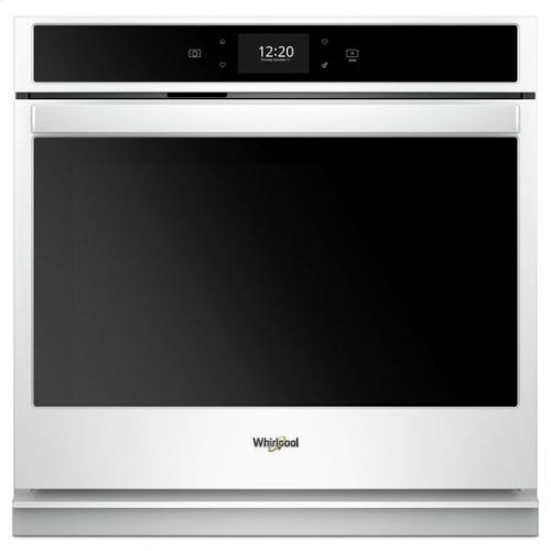 Whirlpool® 5.0 cu. ft. Smart Single Wall Oven with True Convection Cooking - White