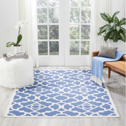 Sun N' Shade Snd04 Lapis Rectangle Rug 7'9'' X 10'10''