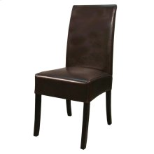 Valencia BONDED Leather Chair, Brown