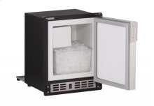 """15"""" Marine Crescent Ice Maker Stainless Solid Field Reversible"""