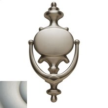 Satin Nickel with Lifetime Finish Imperial Knocker