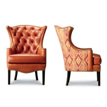 Kelly Tufted Wing Chair