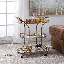 Stassi Serving Cart
