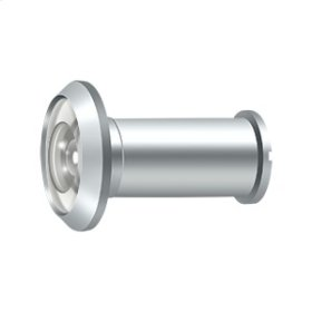 Door Viewer - Polished Chrome