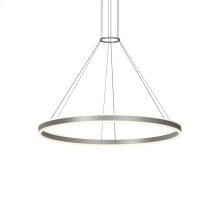 "Double Corona(tm) 48"" LED Ring Pendant"