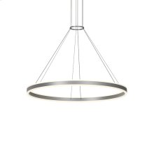 "Double Corona 48"" LED Ring Pendant"