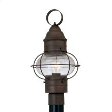 "10"" Post Lantern in Rustique"