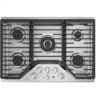 """30"""" Built-In Gas Deep Recessed Edge-to-Edge Black Cooktop Product Image"""