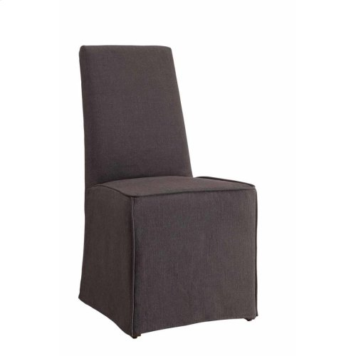Galloway Grey Slip-covered Dining Chair
