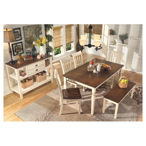 D58300 In By Ashley Furniture In Orange Ca Large Dining Room Bench