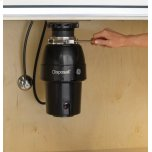 GE ®1/2 Hp Continuous Feed Garbage Disposer Non-Corded