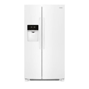 Gallery 25.5 Cu. Ft. Side-by-Side Refrigerator - PEARL WHITE