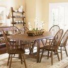 7 Piece Trestle Table Set Product Image