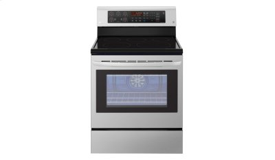 6.3 cu. ft. Capacity Electric Single Oven Range with True Convection and EasyClean® Product Image
