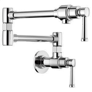 Artesso Wall Mount Pot Filler Faucet Product Image