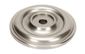 Bella Rosette A1460 - Satin Nickel