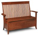 "Loft Storage Bench, Loft Storage Bench, 44""w Product Image"