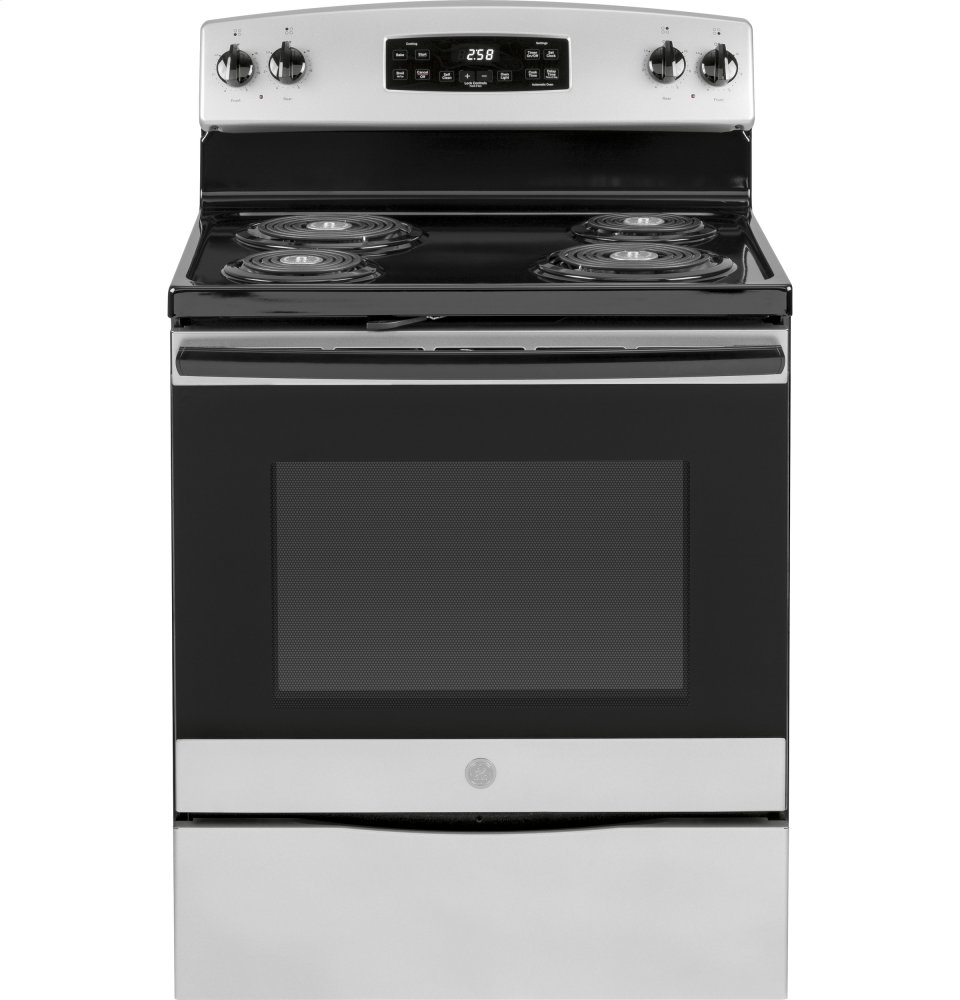 "GE(R) 30"" Free-Standing Self-Clean Electric Range
