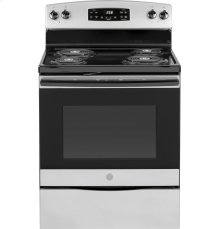 "GE® 30"" Free-Standing Self-Clean Electric Range"